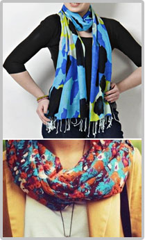 Manufacturer, Supplier, Dealer and Producer of Shawls, Scarves, Dupattas, Stoles in Delhi, India